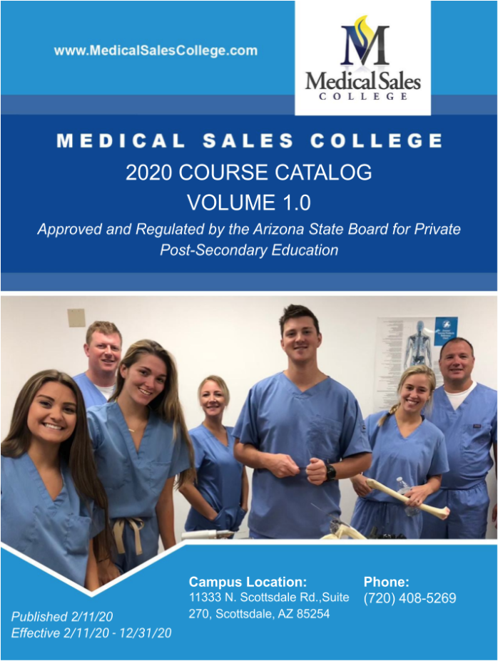 MSC Course Catalog Arizona