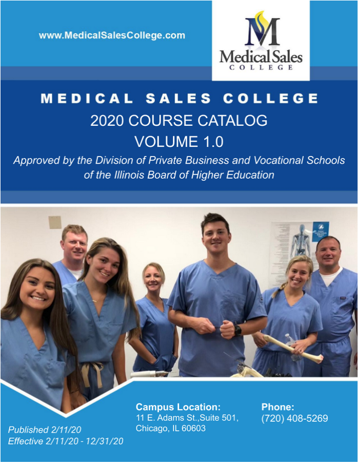 MSC Course Catalog Chicago