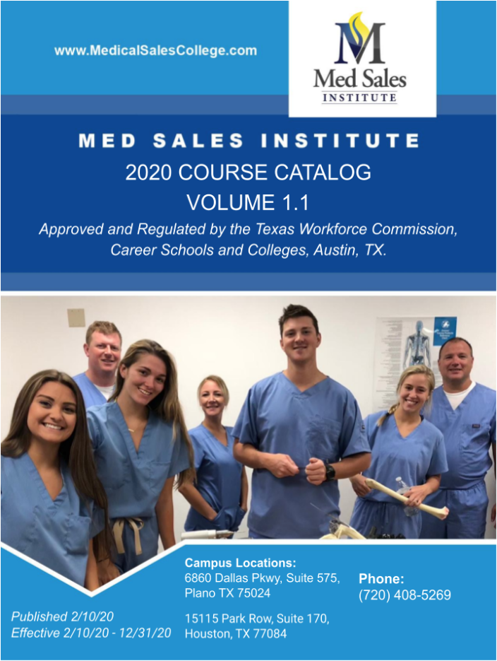 MSC Course Catalog Texas